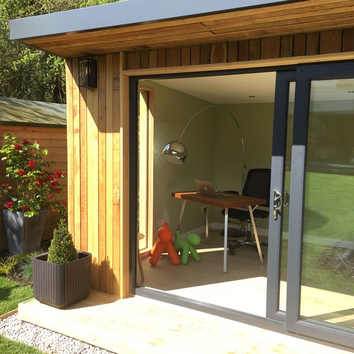 Garden rooms a home office bedroom or gym outside in