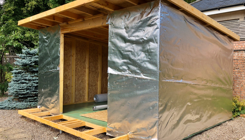 Insulated GardenRoom